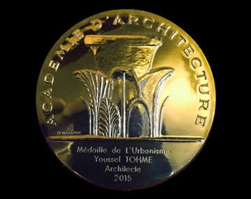 Youssef Tohme awarded 'La médaille de l'urbanisme' from France's Academy of Architecture