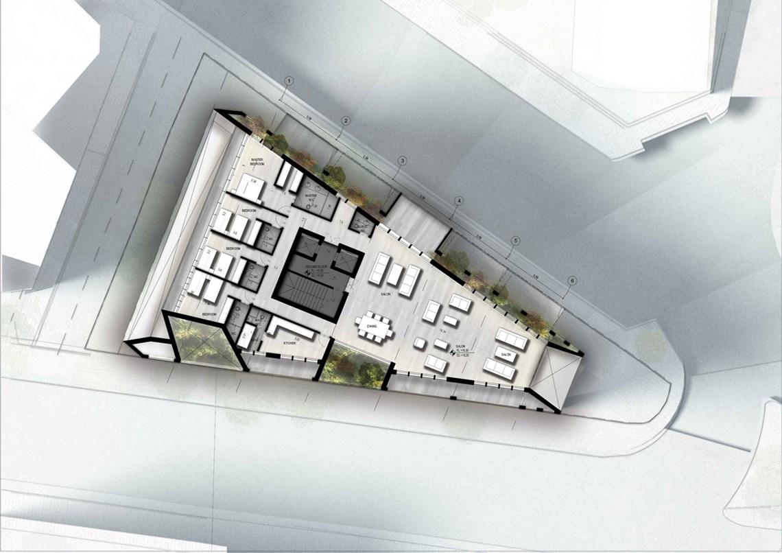 2nd Floor Plan - Option 2